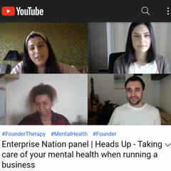 Taking care of your mental health when running a business
