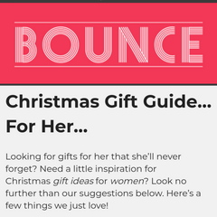 Bounce magazine Christmas gift guide for her - Mood Cards