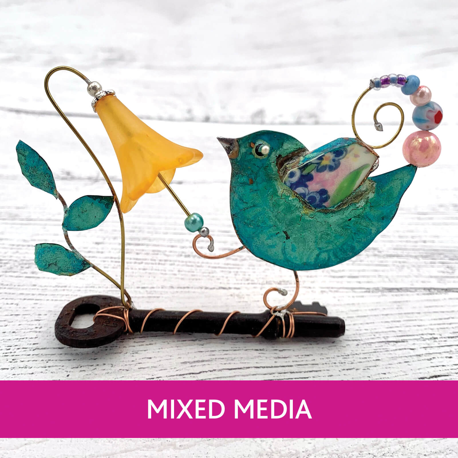 Hand crafted Mixed Media collection from Ferrers Gallery