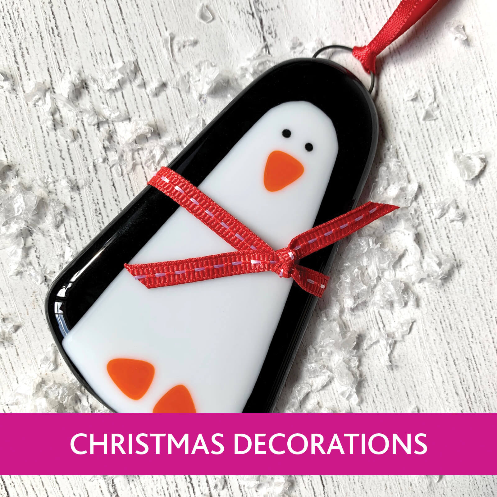 Ferrers Gallery, unique and handcrafted British made Christmas Decoration Collection