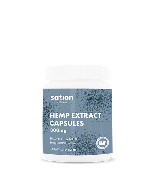 Sation CBD Oil Softgel Capsuels For Sale
