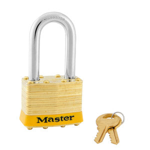 Master Lock 2 Laminated Brass Padlock 1-3/4in (44mm) wide