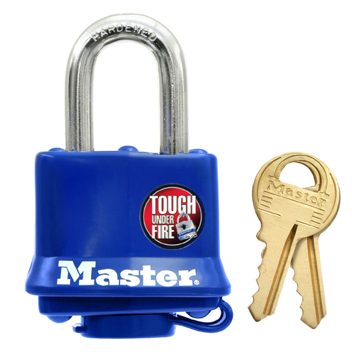 Master Lock 312 Laminated Steel Padlock 1-9/16in (40mm) wide-KeyedAlike.com