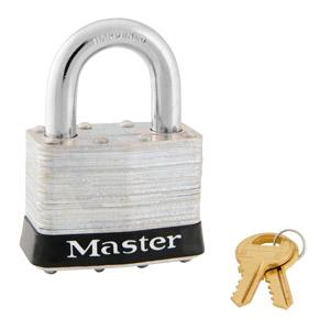Master Lock 5 Laminated Steel Padlock 2in (51mm) wide