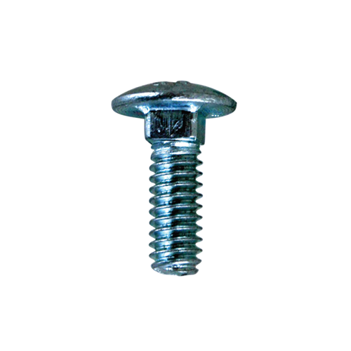 "Hodge Products Inc CB0412Z - 1/4"" x 3/4"" Carriage Bolts-KeyedAlike.com"