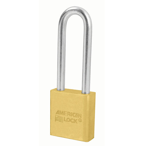 American Lock A22 Solid Brass Padlock 1-3/4in (44mm) wide-KeyedAlike.com