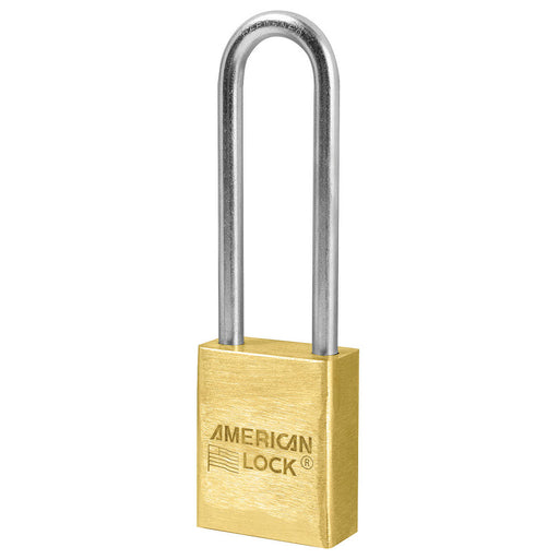 American Lock A42 Solid Brass Padlock 1-1/2in (38mm) wide-KeyedAlike.com