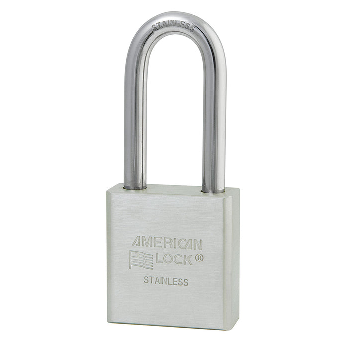 American Lock A5401 Solid Stainless Steel Padlock 1-3/4in (44mm) wide