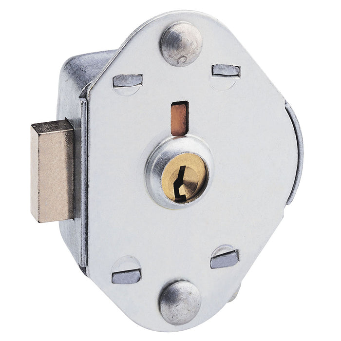 Built-In Manual Deadbolt Keyed Lock for Lift Handle, Single Point Horizontal Latch and Box Lockers, Keyed Alike-KeyedAlike.com