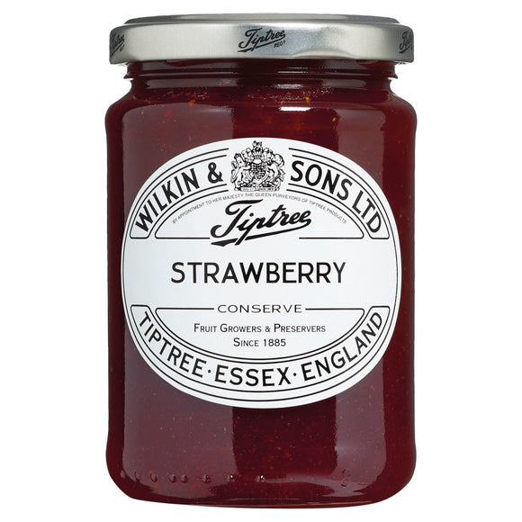 Sterling Silver Wilkin & Sons Strawberry Conserve Jar Lid - Maudes The Jewellers