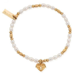 ChloBo Gold Heart of Love Bracelet