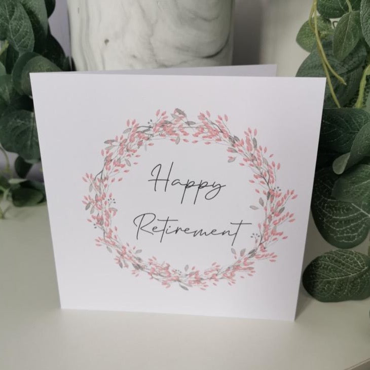Happy Retirement - Maudes The Jewellers