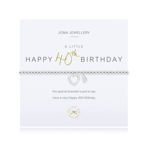 Load image into Gallery viewer, Joma Jewellery A Little Happy 40th Birthday Bracelet