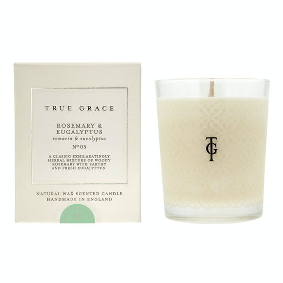 True Grace - Rosemary and Eucalyptus Scented Candle