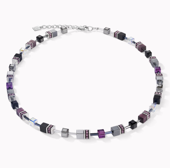 Coeur de Lion Necklace GeoCUBE® medium amethyst