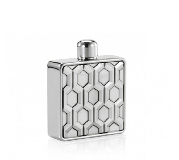Royal Selangor Hexagon Hip Flask - Maudes The Jewellers