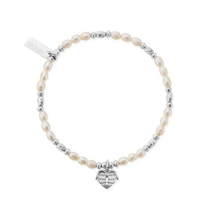ChloBo Heart of Love Bracelet Silver - Maudes The Jewellers