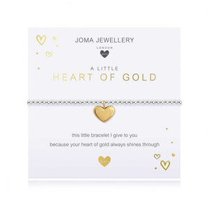 Joma Jewellery Children's A Little Heart Of Gold