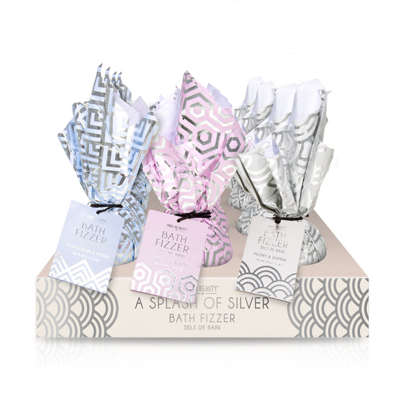 MAD Beauty Splash of Silver Bath Fizzer