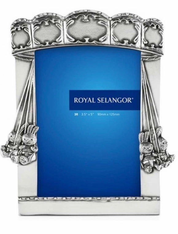 Royal Selangor Children's Pewter Carousel Photo Frame - Maudes The Jewellers