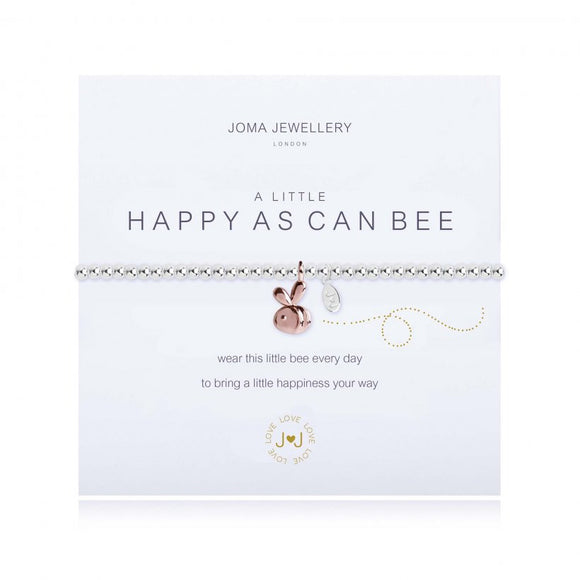 Joma Jewellery A Little Happy As Can Bee Bracelet