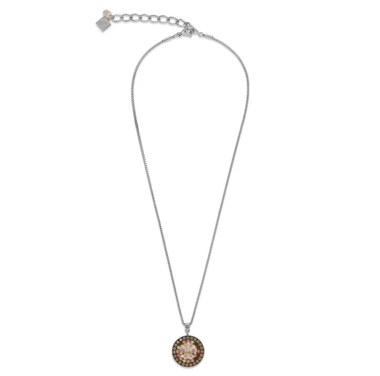 Coeur de Lion Swarovski Circle Necklace 4983/10-1000 - Maudes The Jewellers