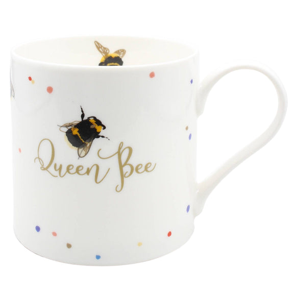 Belly Button Designs Queen Bee Mug