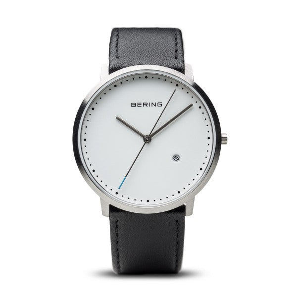 Bering Classic Brushed Silver 11139-404 - Maudes The Jewellers