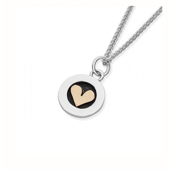 Linda Macdonald Heart Necklace - EMEDH - Maudes The Jewellers