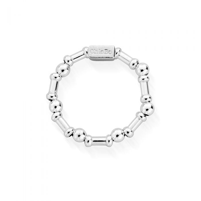 ChloBo Rhythm of Water Ring Small Silver - Maudes The Jewellers