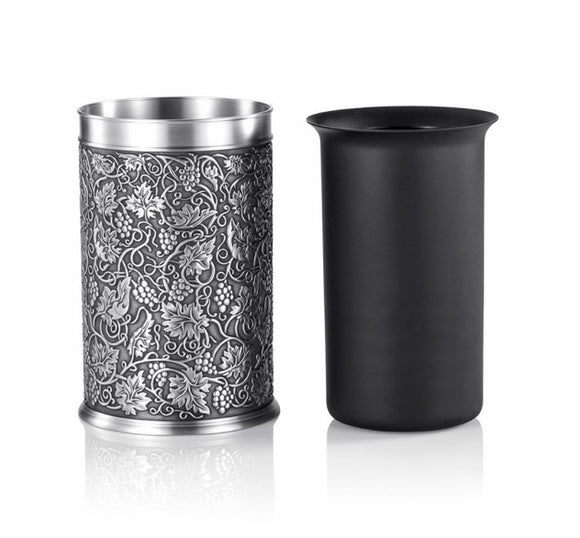 Royal Selangor Pewter William Morris Bottle Chiller/Vase - Maudes The Jewellers