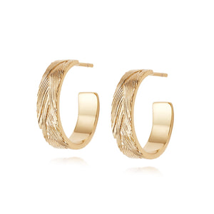 Daisy London Artisan Woven Hoop Earrings - Maudes The Jewellers