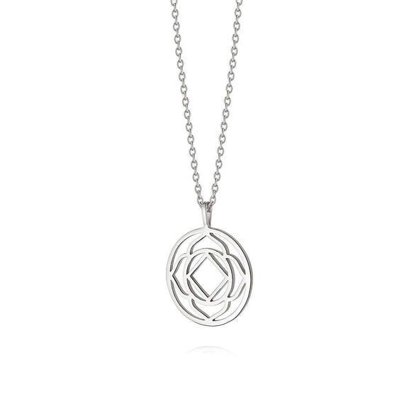 Daisy London Base Chakra Silver Necklace - Maudes The Jewellers