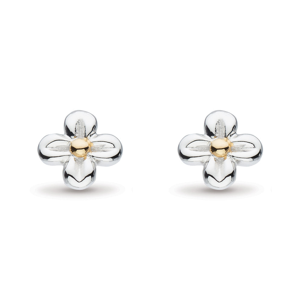 Load image into Gallery viewer, Kit Heath Blossom Flyte Honey Flower Stud Earrings - Maudes The Jewellers