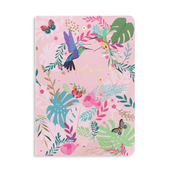 Belly Button Designs Hummingbird Softback Notebook