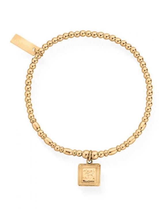 Chlobo Sacred Sound Bracelet Gold - Maudes The Jewellers