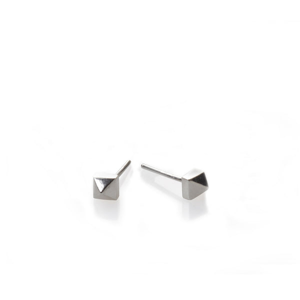 silver studs earrings