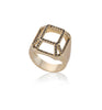14k yellow gold highlights big Toy Ring