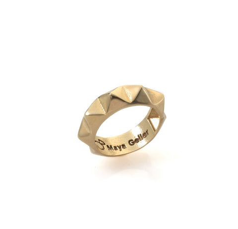 14k gold studs ring