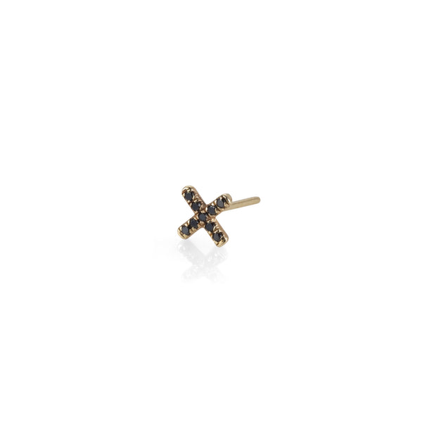 X GOLD EARRING - SINGLE EARRING