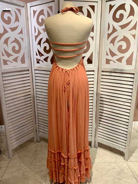 Exceptional summer maxi dress.