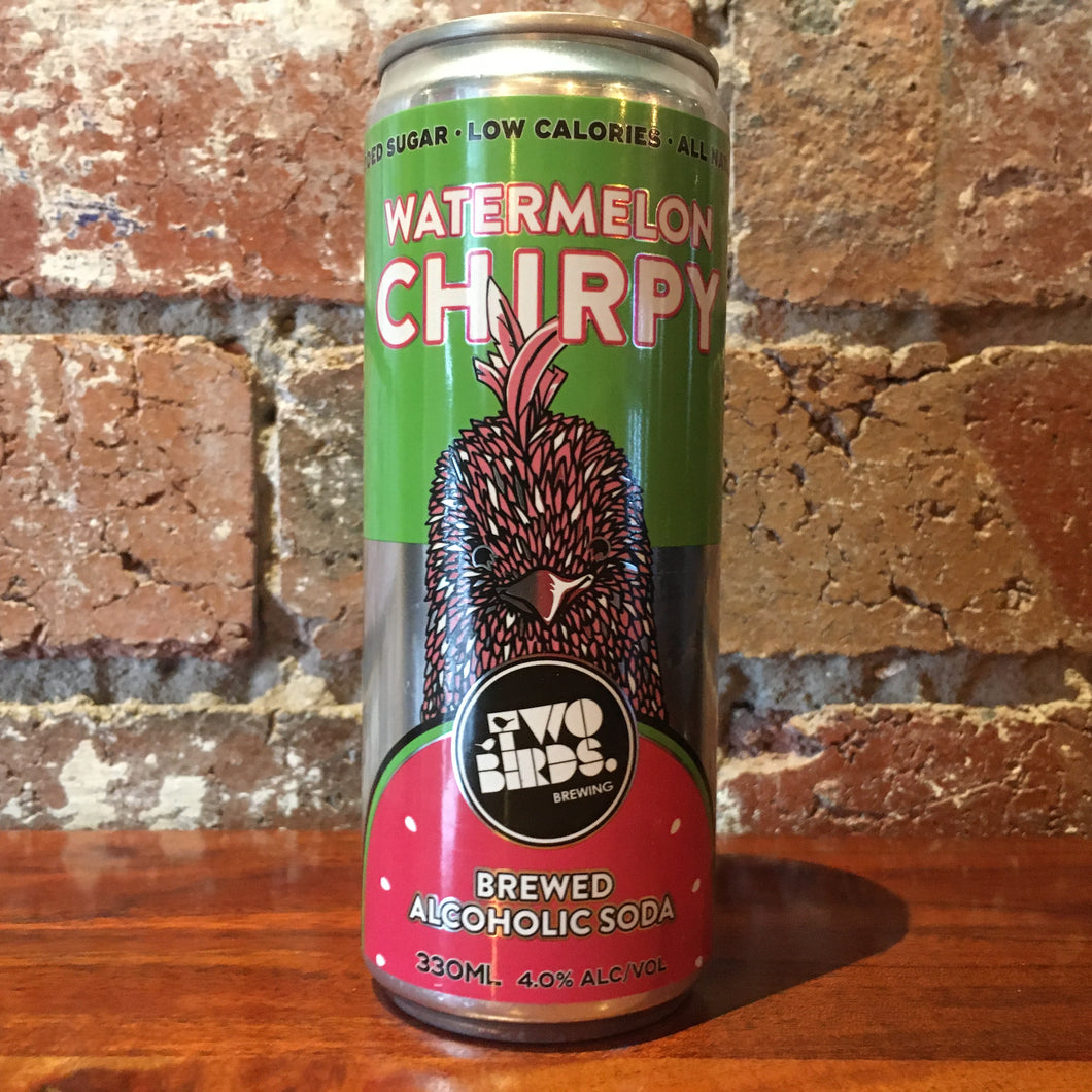 Two Birds Chirpy Watermelon Alcoholic Soda