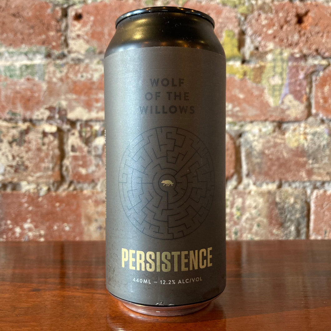 Wolf of the Willows Persistence Gospel Rye Whisky Barrel Aged Rye Imperial Stout