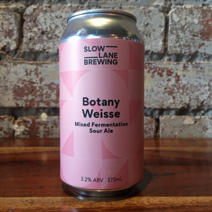 Slow Lane Botany Weisse Mixed Fermentation Sour Ale