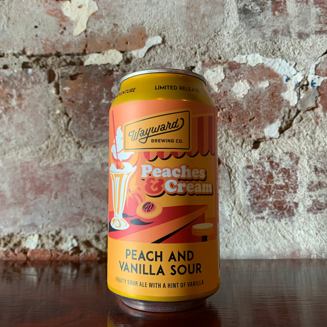 Wayward Peaches and Cream Peach and Vanilla Sour