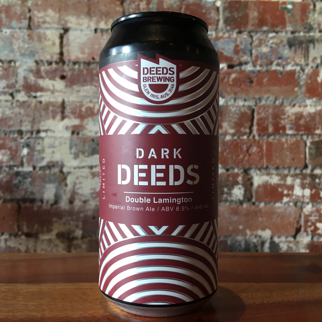 Deeds Double Lamington Imperial Brown Ale