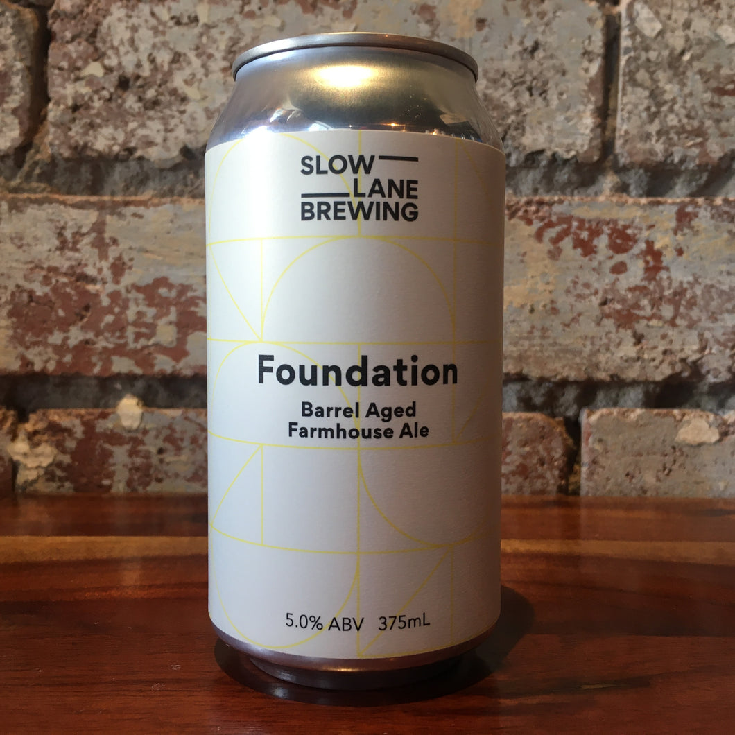 Slow Lane Foundation Barrel Aged Farmhouse Ale