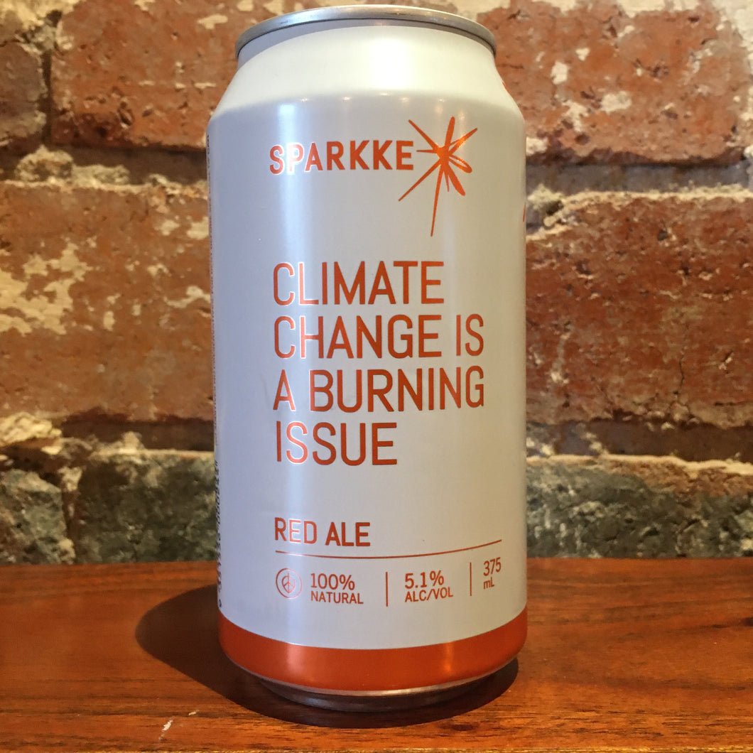 Sparkke Climate Change Is A Burning Issue Red Ale