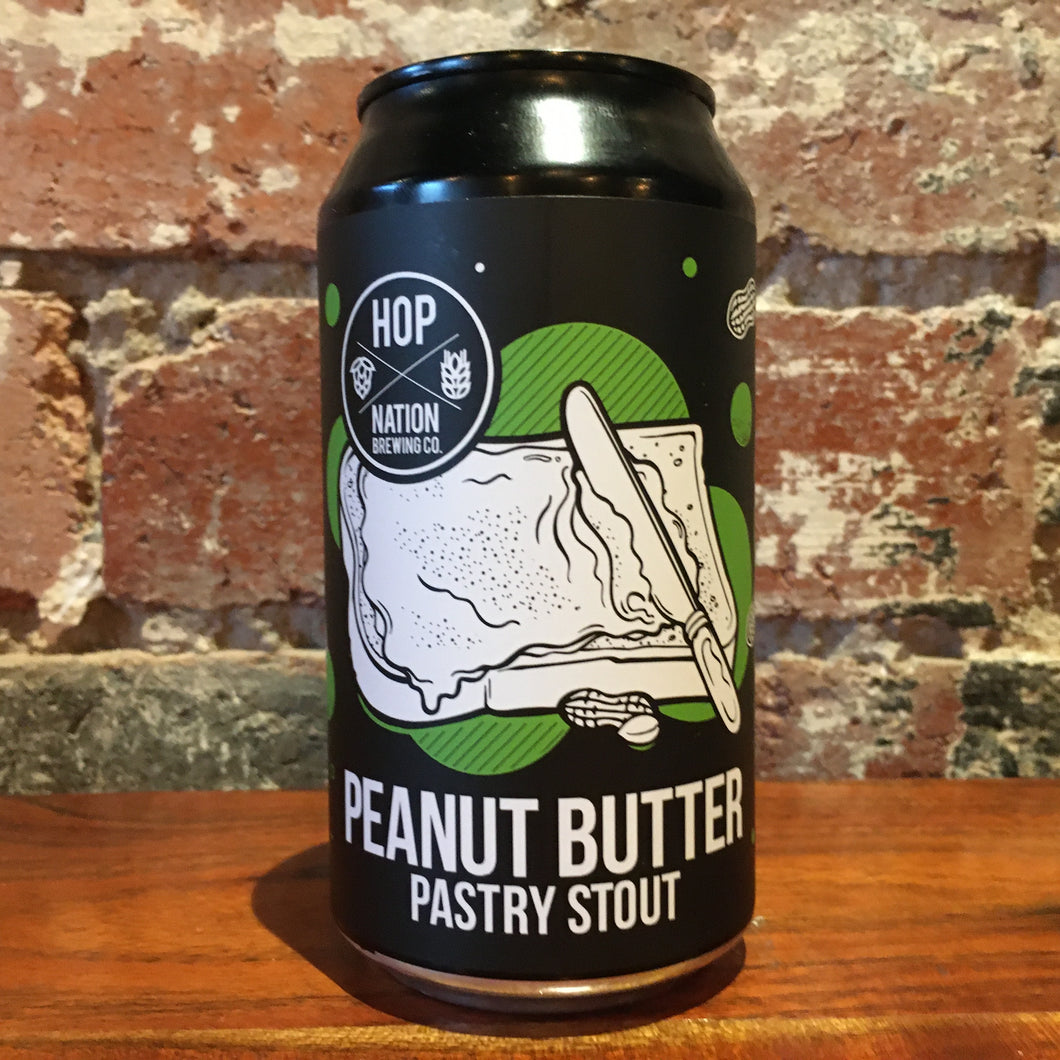 Hop Nation Peanut Butter Pastry Stout