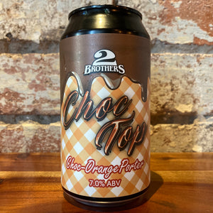 2 Brothers Choc Top Choc-Orange Porter